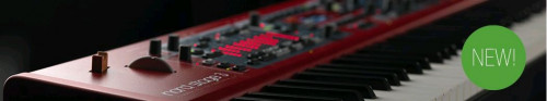 Nord Stage 3 HP76  Stor nyhet.