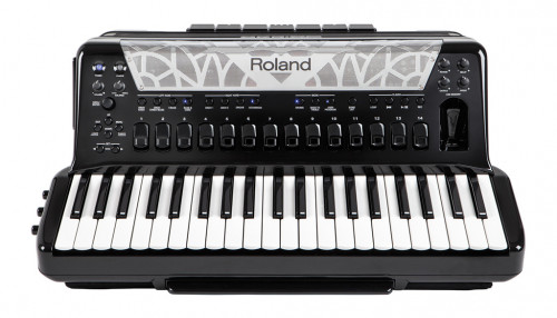Roland FR-8X  BK  V-Accordion digitalt  pianospill. Sort.