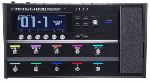 Boss GT-1000 Versjon 3 Multieffect processor