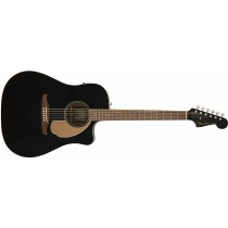 Fender Redondo Player Walnut, Jetty Black