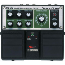 Boss RE-20 Space Echo dobbel pedal  RE 201 simulering