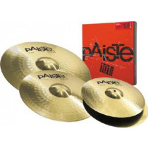 "Paiste 101 Brass Universalsett  14"" hihat /16"" crash og  20""ride"