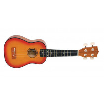 Morgan UK S100 ukulele. Sunburst
