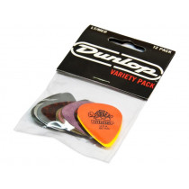 Dunlop PVP101 Variety Pack Light/Medium (12) Plekter. 12 i pakken . .