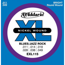 Daddario EXL115 Blues/Jazz rock 011-049