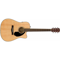 Fender CD-60SCE Dreadnought Walnut Natural