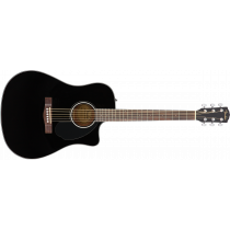 Fender CD-60SCE Dreadnought Walnut Black