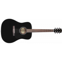 Fender CD60 Dread V3 DS, BLK WN
