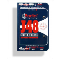 Radial J48 DI-boks Phantom powered direct box. Meget bra