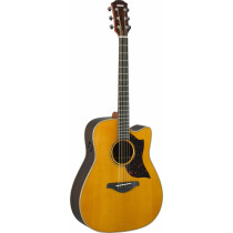 Yamaha A3R ARE VN - traditional western body cutaway guitar med lightcase