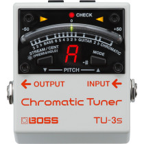 Boss TU-3S Chromatic Tuner - Uten switch
