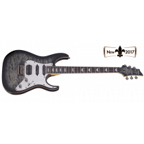 Schecter Banshee-6 Extreme Charcoal Burst
