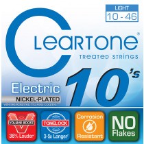 Cleartone Electric Nickel plated steel 10/46
