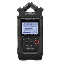 Zoom H4nPro Handy 4-Channel Recorder   All black finish