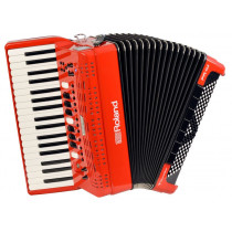 Roland FR-4X RD pianospill  rødt v-accordion.