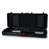 Gator Cases GTSA-KEY76D DEEP 76-note TSA Keyboard Case med  hjul Bla.a til Yamaha Genos