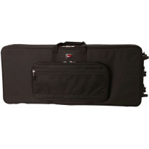 Gator GAT-GK88 bag keyboard lettvekt  for 88 tangenter Sort med hjul