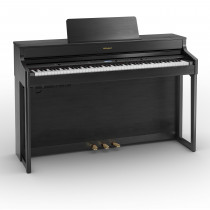Roland HP702-DR Digitalpiano  Charcole Black  Sort matt