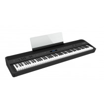 Roland FP-90X BK digitalpiano sort 88 tang Bluetooth Super NATURAL-lyd. Helt ny modell.