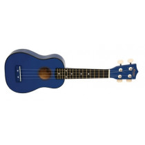 Morgan UK S100 ukulele. Dark Blue