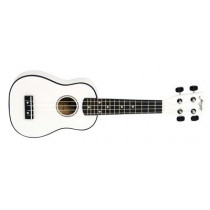 Morgan UK S100 ukulele. White