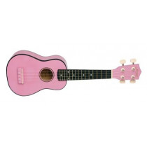 Morgan UK S100 ukulele. Pink
