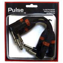 Pulse jack/jack patch kabler Ultrafex 3 pack