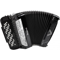 Roland FR-8XB V-Accordion digitalt knappespill. Sort.